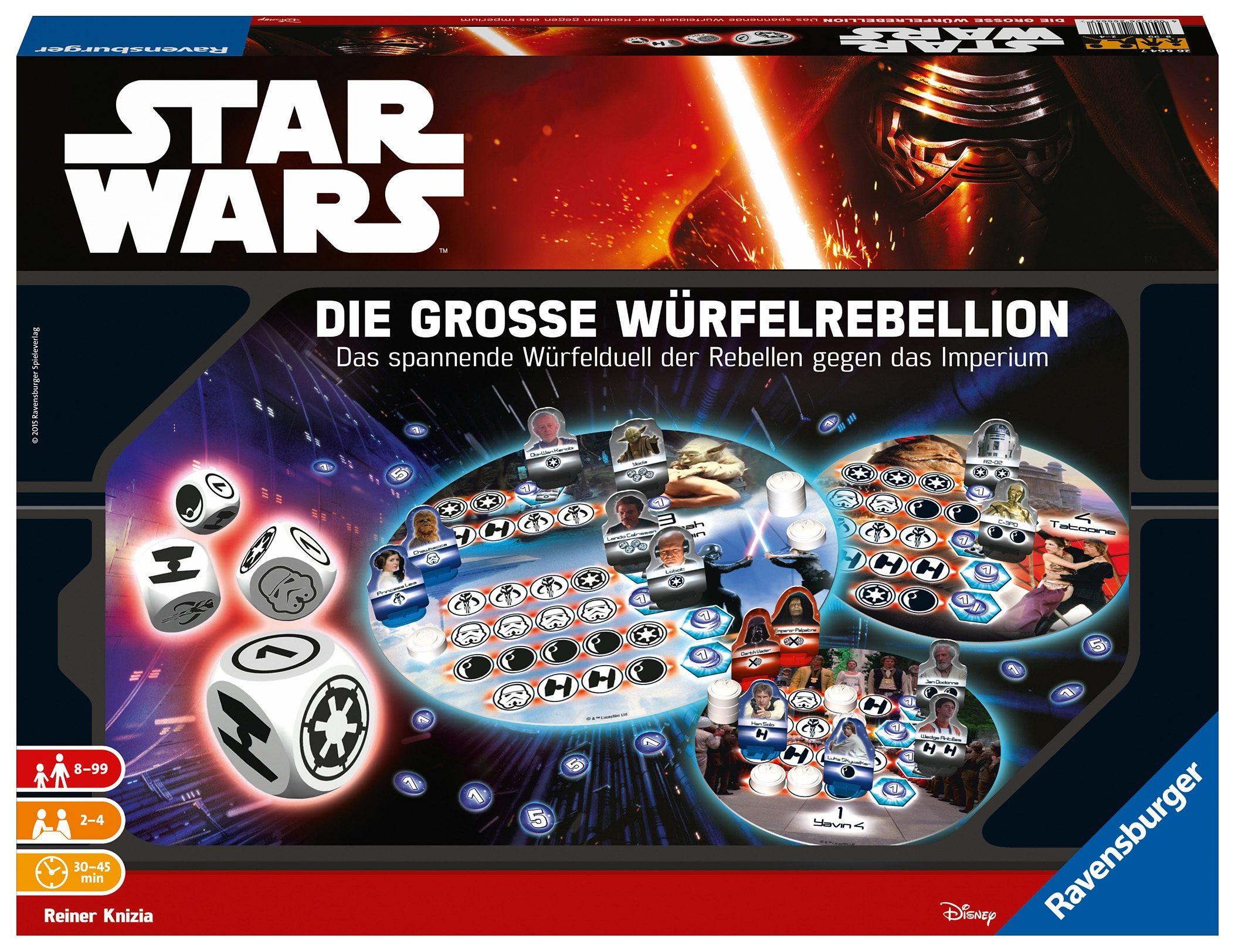 Ravensburger Gesellschaftsspiel, »Disney Star Wars - Die große Würfelrebellion«