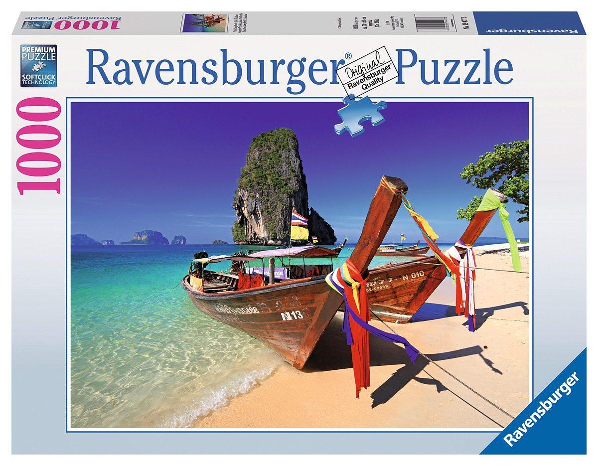 Ravensburger Puzzle, 1000 Teile, »Phra Nang Beach, Krabi, Thailand«