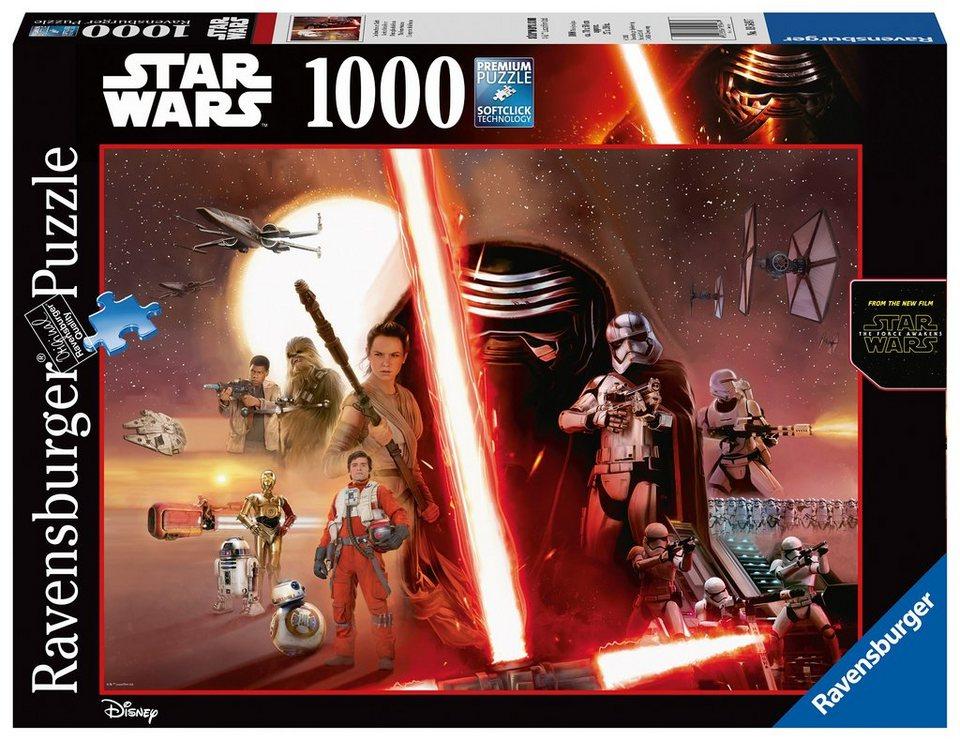 Ravensburger Puzzle, 1000 Teile, »Star Wars Episode VII«