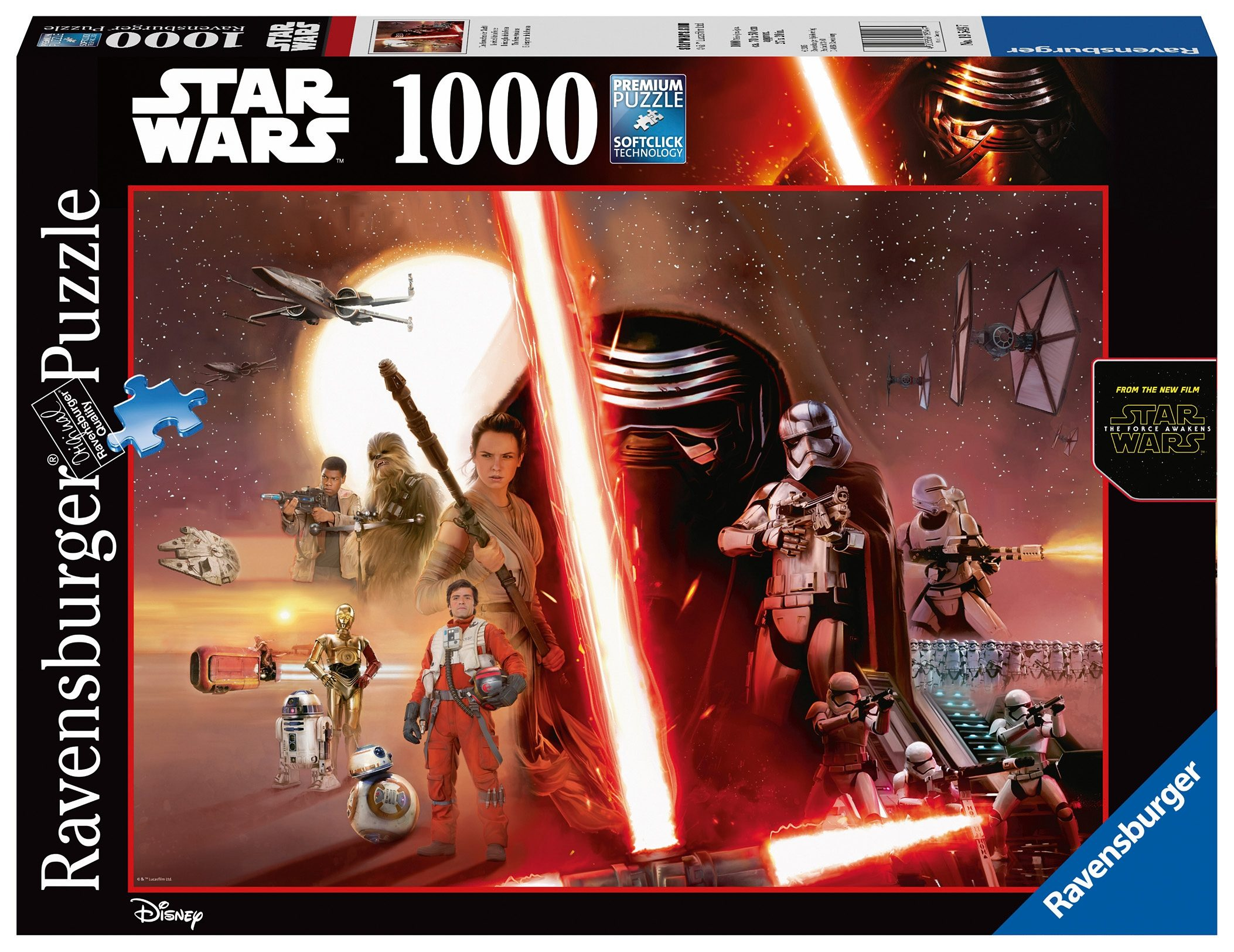 Ravensburger Puzzle, 1000 Teile, »Star Wars Episode VII«