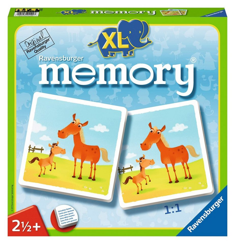 ravensburger kinderspiel mein erstes xl memory tiere online kaufen otto. Black Bedroom Furniture Sets. Home Design Ideas