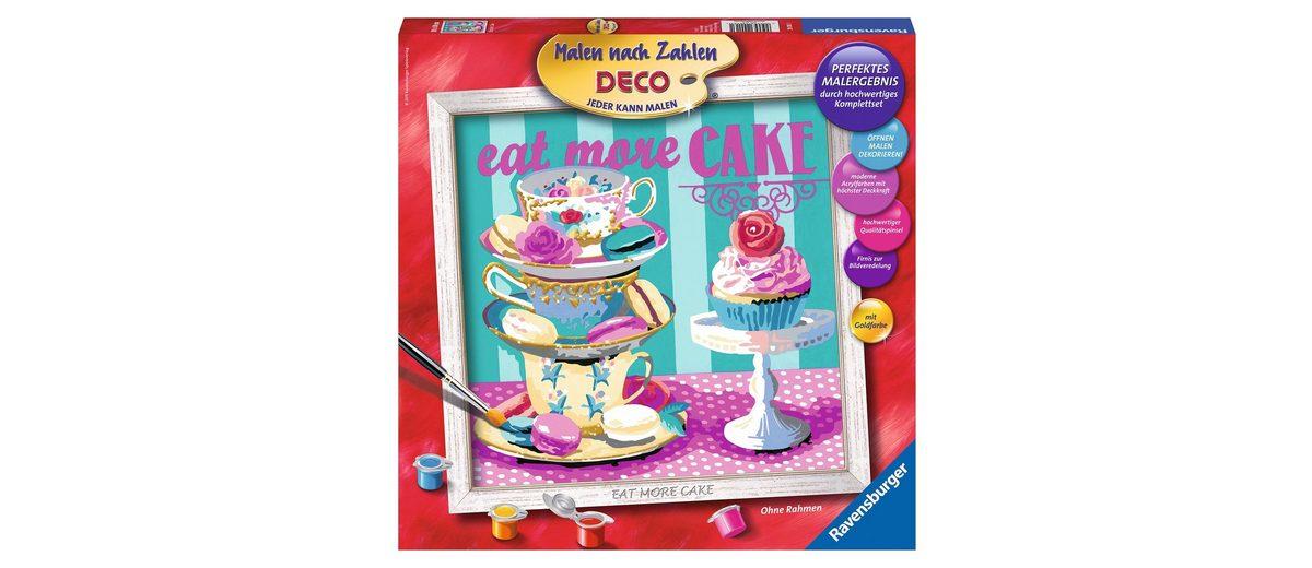 Ravensburger Malen nach Zahlen, »Serie Deco, Eat more Cake«