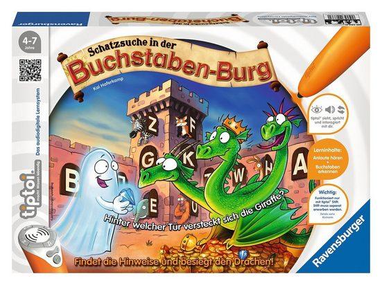 Ravensburger Spiel, »tiptoi® Puzzle, Schatzsuche in der Buchstabenburg«, Made in Europe, FSC® - schützt Wald - weltweit
