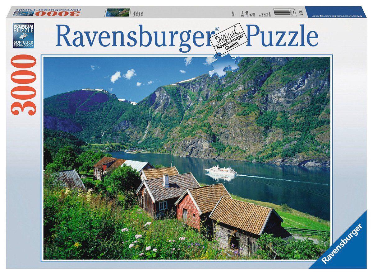 Ravensburger Puzzle, 3000 Teile, »Sognefjord Norwegen«