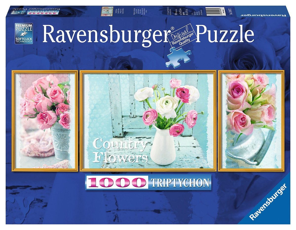 Ravensburger Puzzle, 1000 Teile, »Country Flowers«