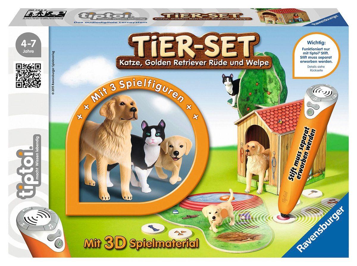 Ravensburger Tier-Set, »tiptoi® Tiersets Golden Retriever«