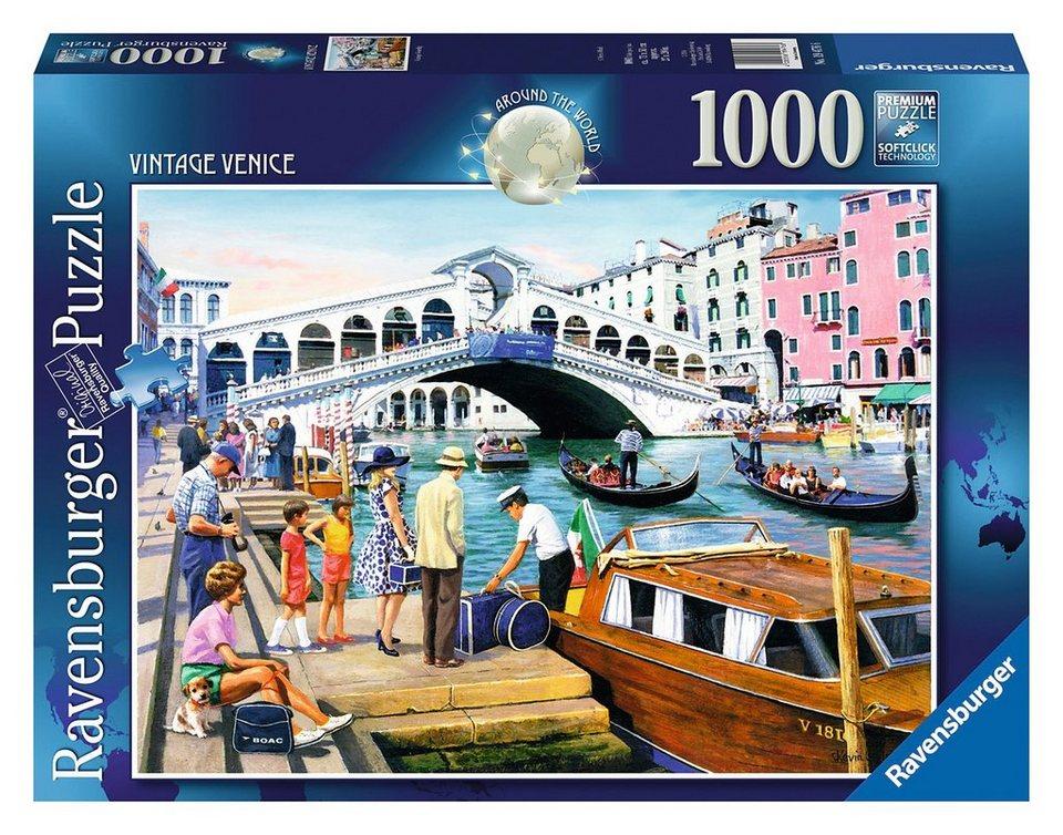 Ravensburger Puzzle, 1000 Teile, »Vintage Venedig«