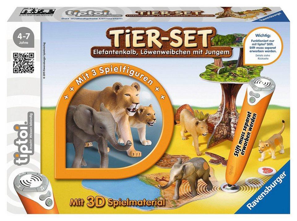 Ravensburger Tier-Set, »tiptoi® Tiersets, Löwen«