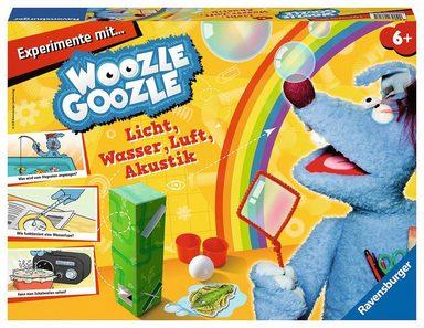 Ravensburger Experimentierkasten »Woozle Goozle - Experimente mit Licht, Wasser, Luft«