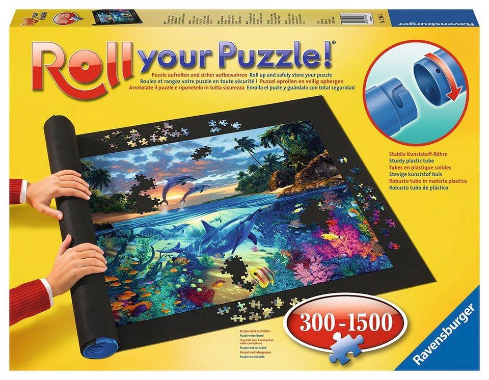 ravensburger puzzleaufbewahrung roll your puzzle 300. Black Bedroom Furniture Sets. Home Design Ideas