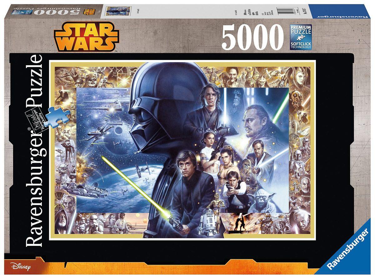 Ravensburger Puzzle, 5000 Teile, »Disney Star Wars I-VI«