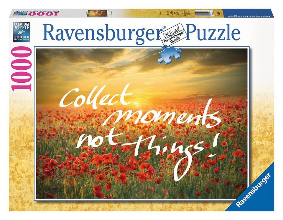 Ravensburger Puzzle, 1000 Teile, »Collect Moments«