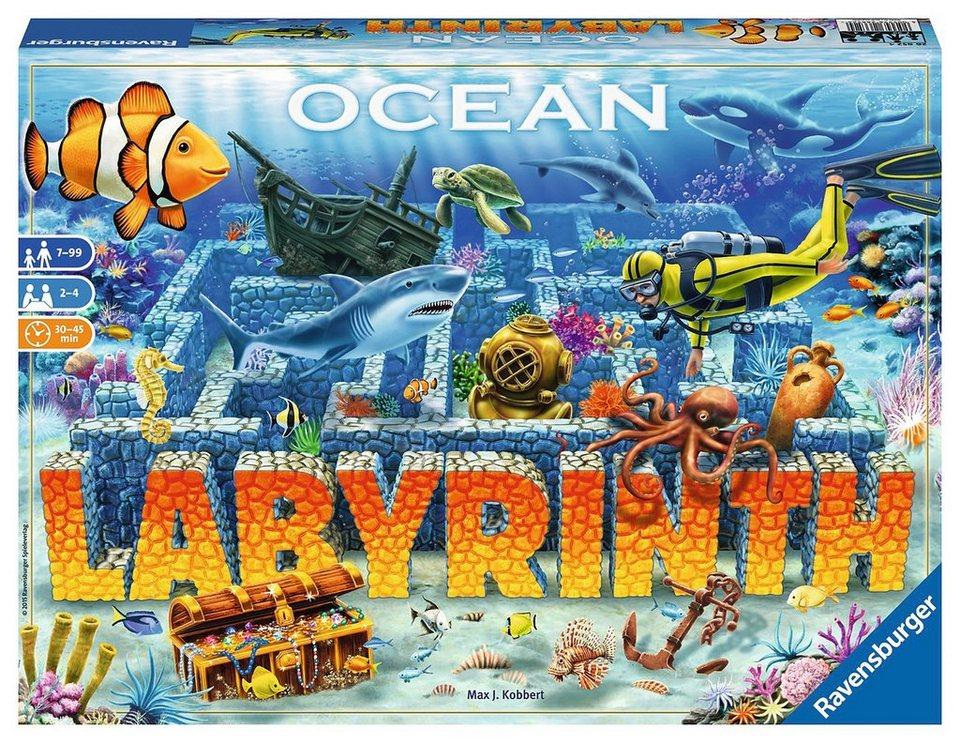 Ravensburger Gesellschaftsspiel, »Ocean Labyrinth«