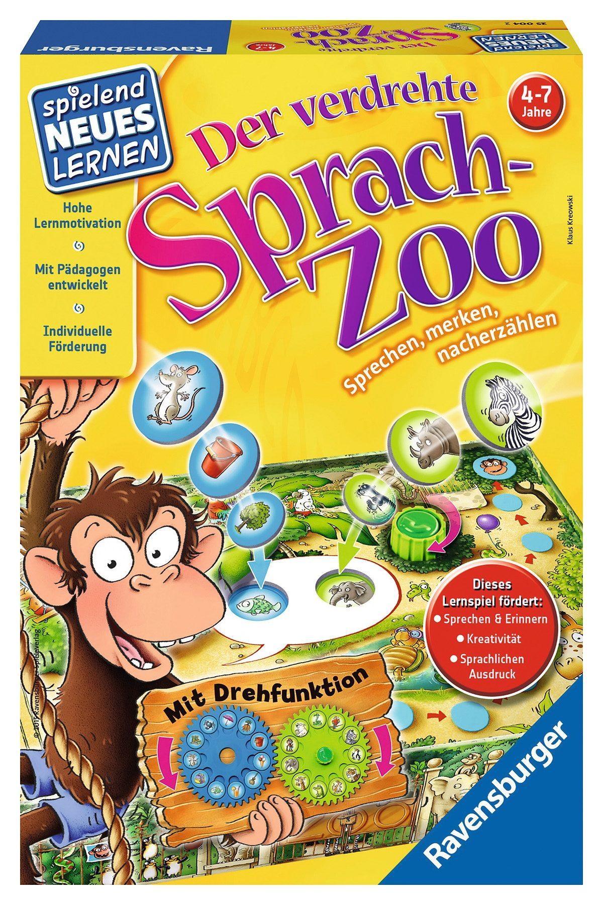 Ravensburger Kinderspiel, »Der verdrehte Sprach-Zoo«