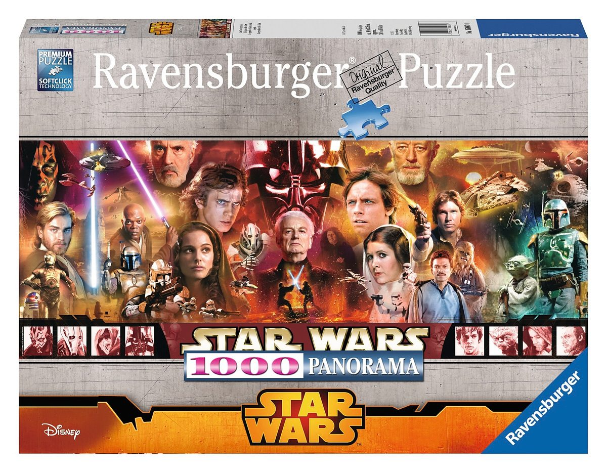Ravensburger Puzzle, 1000 Teile, »Disney Star Wars Legenden«