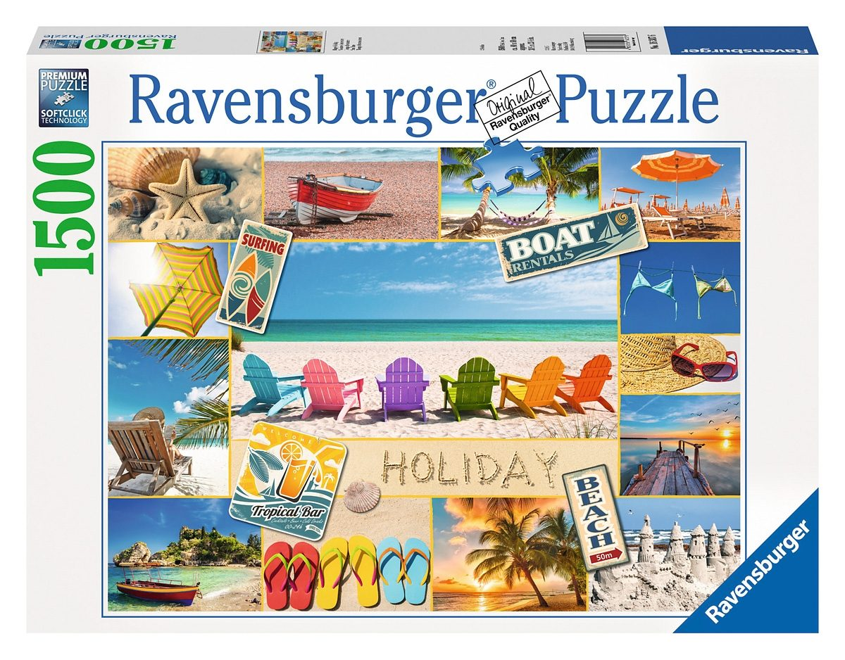 Ravensburger Puzzle, 1500 Teile, »Happy Holiday«