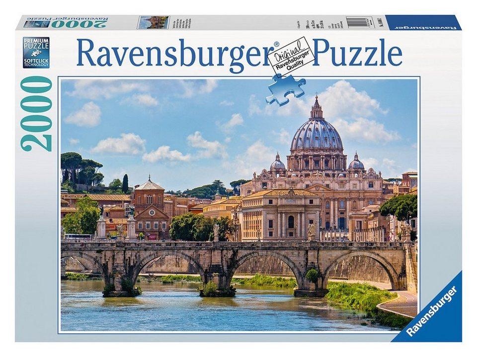 ravensburger puzzle 2000 teile engelsbr cke in rom online kaufen otto. Black Bedroom Furniture Sets. Home Design Ideas