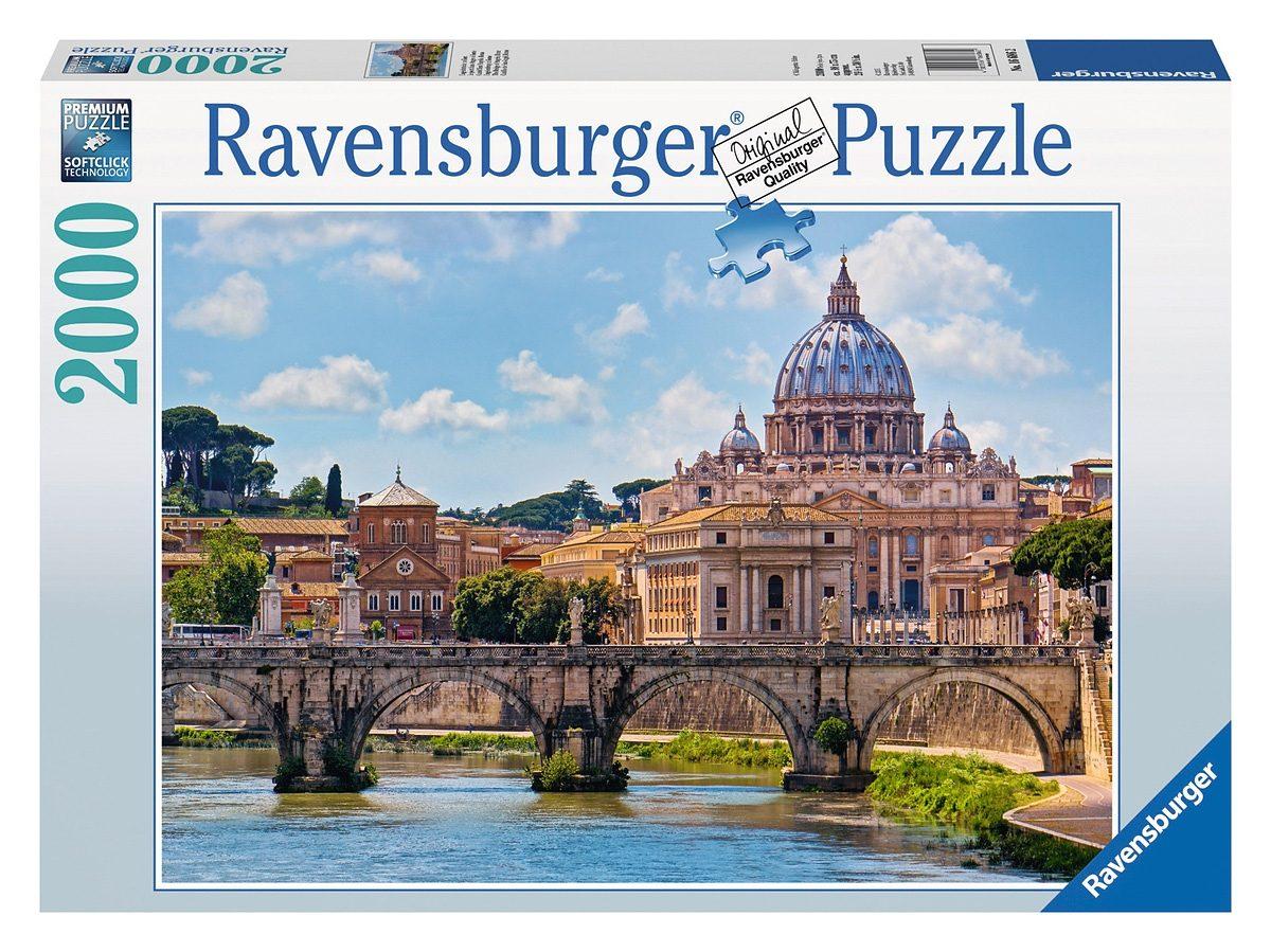 Ravensburger Puzzle, 2000 Teile, »Engelsbrücke in Rom«