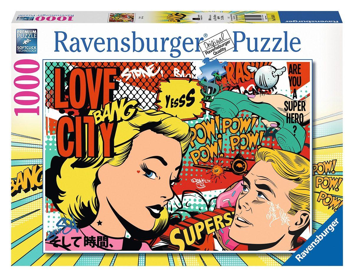 Ravensburger Puzzle, 1000 Teile, »Pop Art«