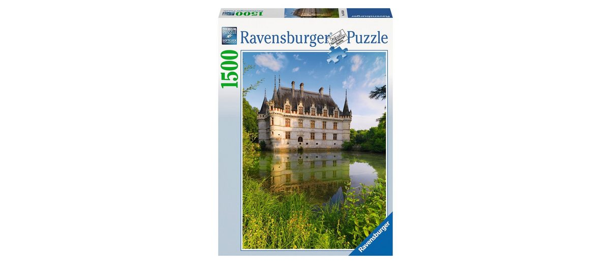 Ravensburger Puzzle, 1500 Teile, »Schloss Azay le Rideau, Loiretal«