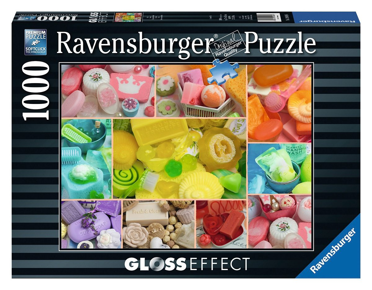 Ravensburger Puzzle, 1000 Teile, »Gloss Effect - Seife«