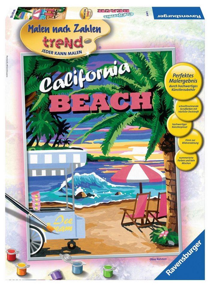 Ravensburger Malen nach Zahlen, »California Beach«