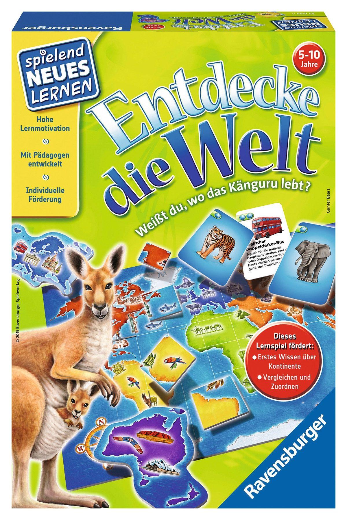 Ravensburger Kinderspiel, »Entdecke die Welt«