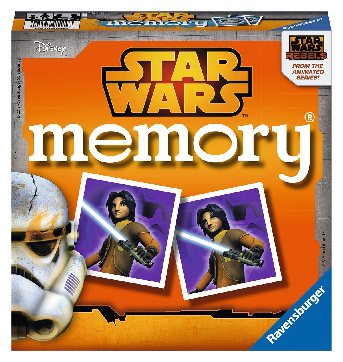 Ravensburger Kinderspiel, »Disney Star Wars Rebels memory®«