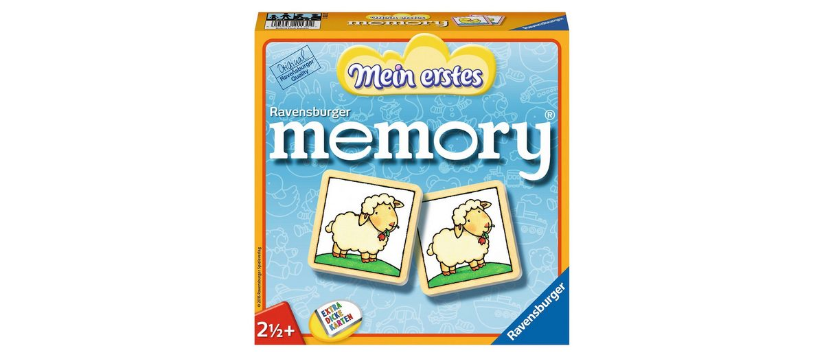Ravensburger Kinderspiel, »Mein erstes memory®«