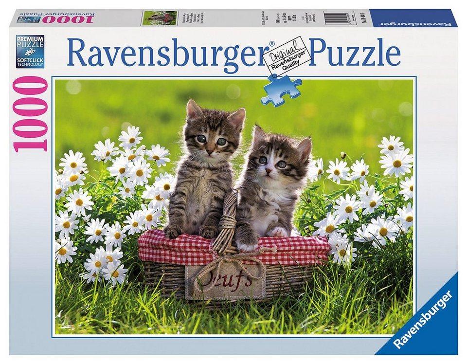 Ravensburger Puzzle, 1000 Teile, »Picknick auf der Wiese«