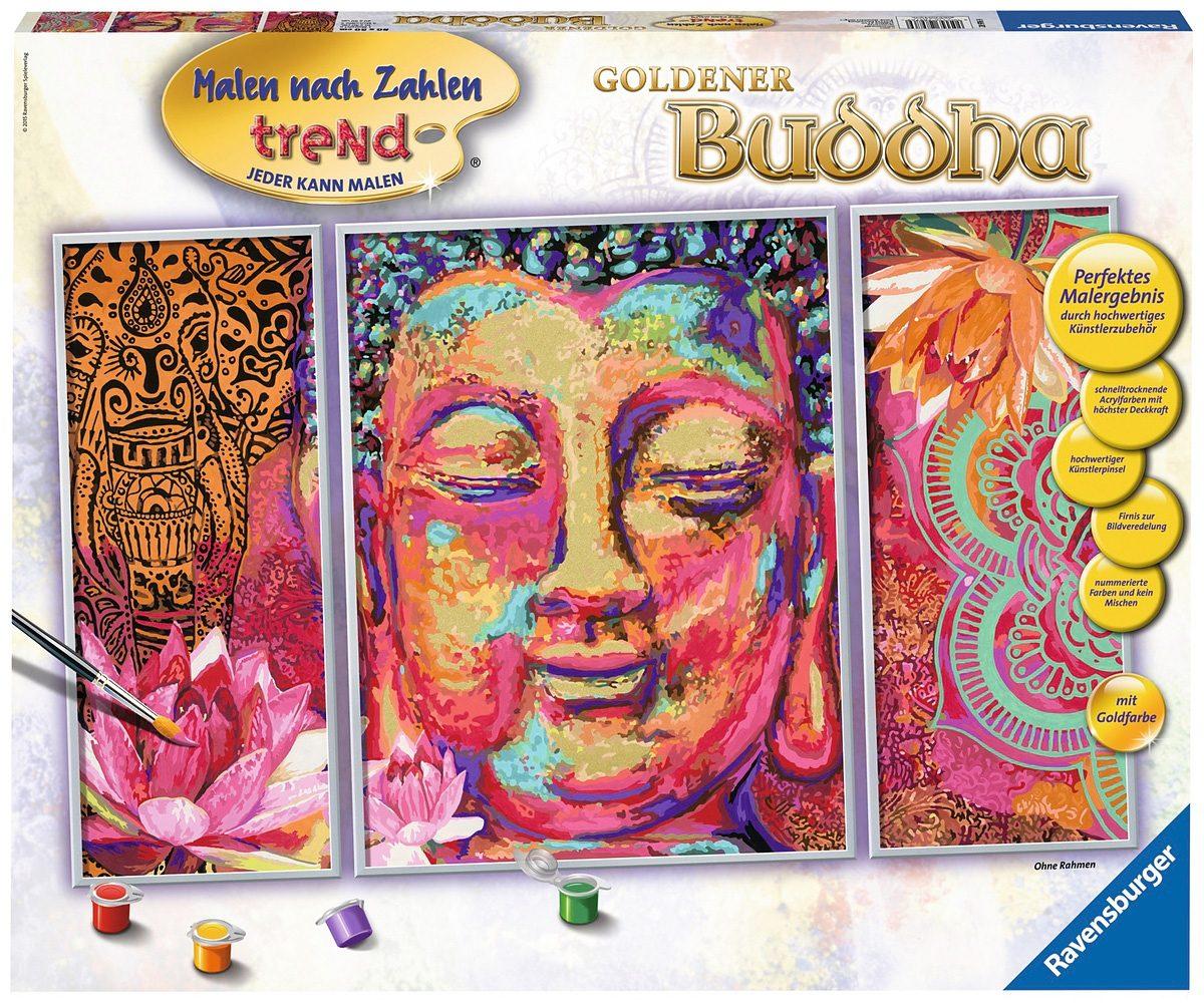 Ravensburger Malen nach Zahlen, »Sonderserie, Goldener Buddha«