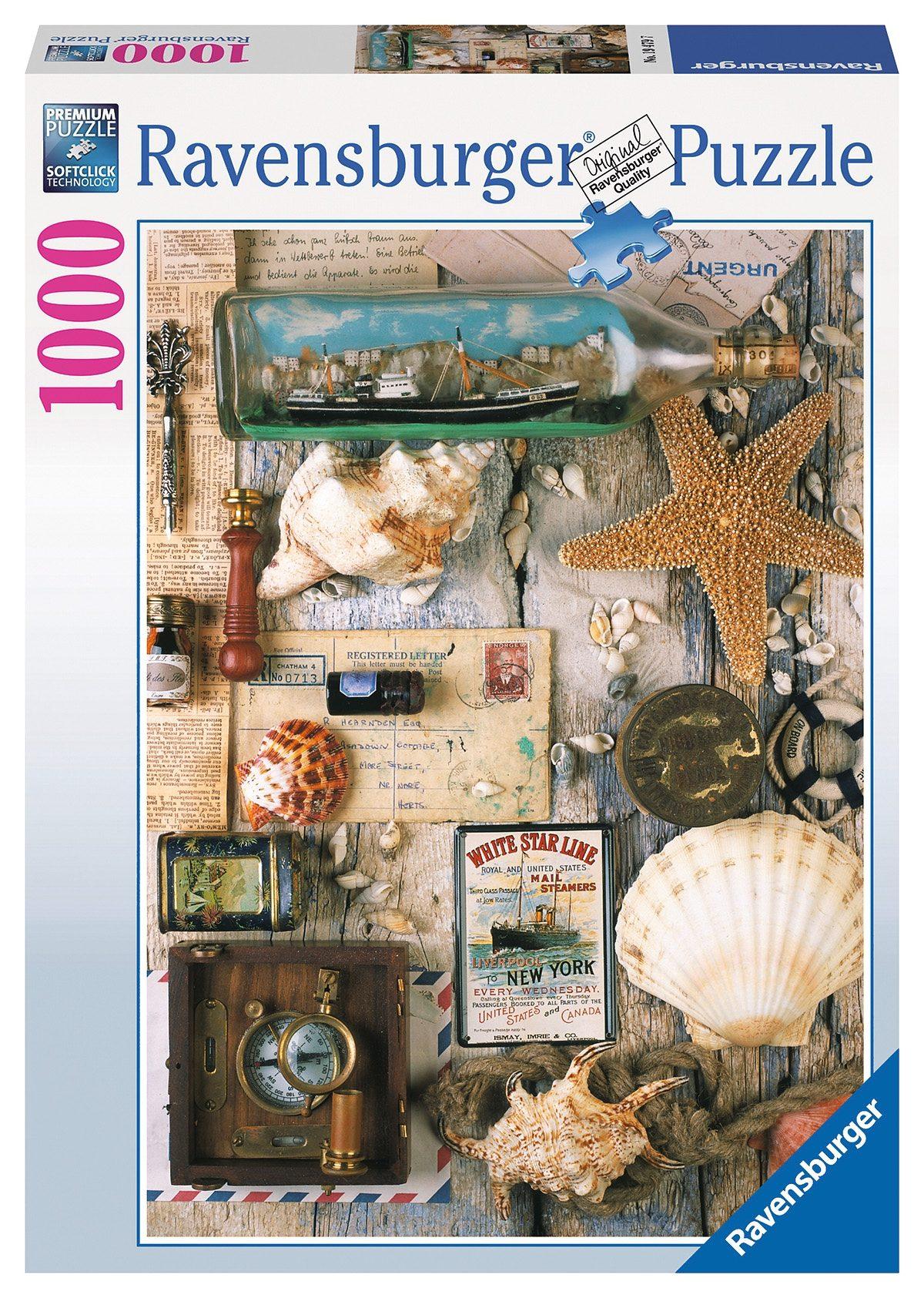 Ravensburger Puzzle, 1000 Teile, »Maritime Souvenirs«