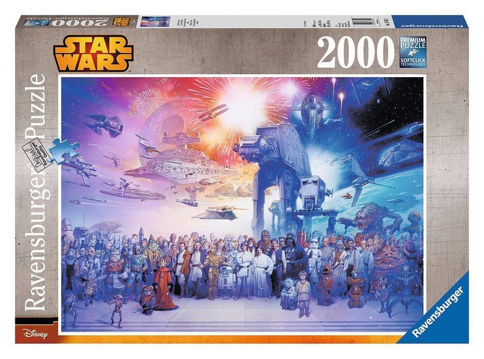 Ravensburger Puzzle, 2000 Teile, »Disney Star Wars Universum«