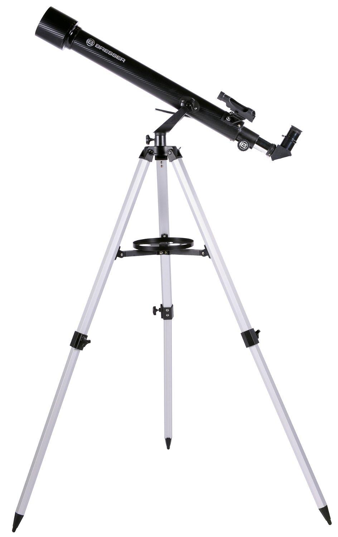 BRESSER Teleskop »Arcturus 60/700 AZ - Linsenteleskop Carbon Design«