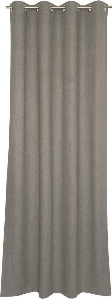 Vorhang, Schöner Wohnen, »Flannel« (1 Stück) in grau