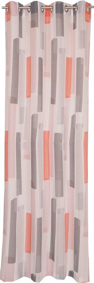Vorhang, Schöner Wohnen, »Tape« (1 Stück) in orange-grau