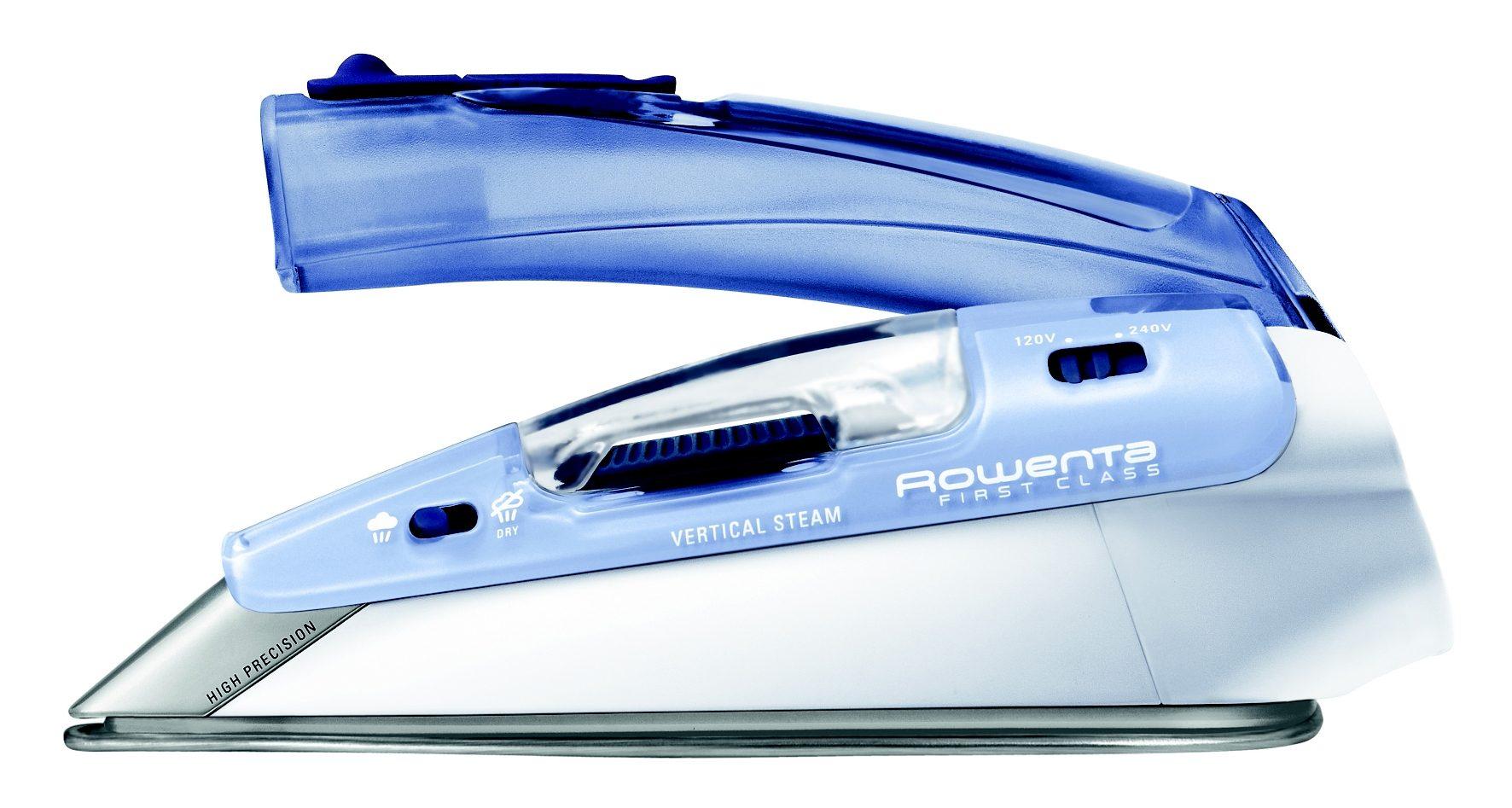 Rowenta Reisebügeleisen DA1510 mit Dampffunktion, Edelstahlsohle, 1000 Watt