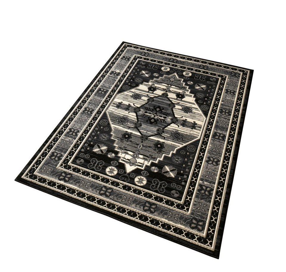 Teppich »Orient«, Hanse Home, rechteckig, Höhe 9 mm in schwarz