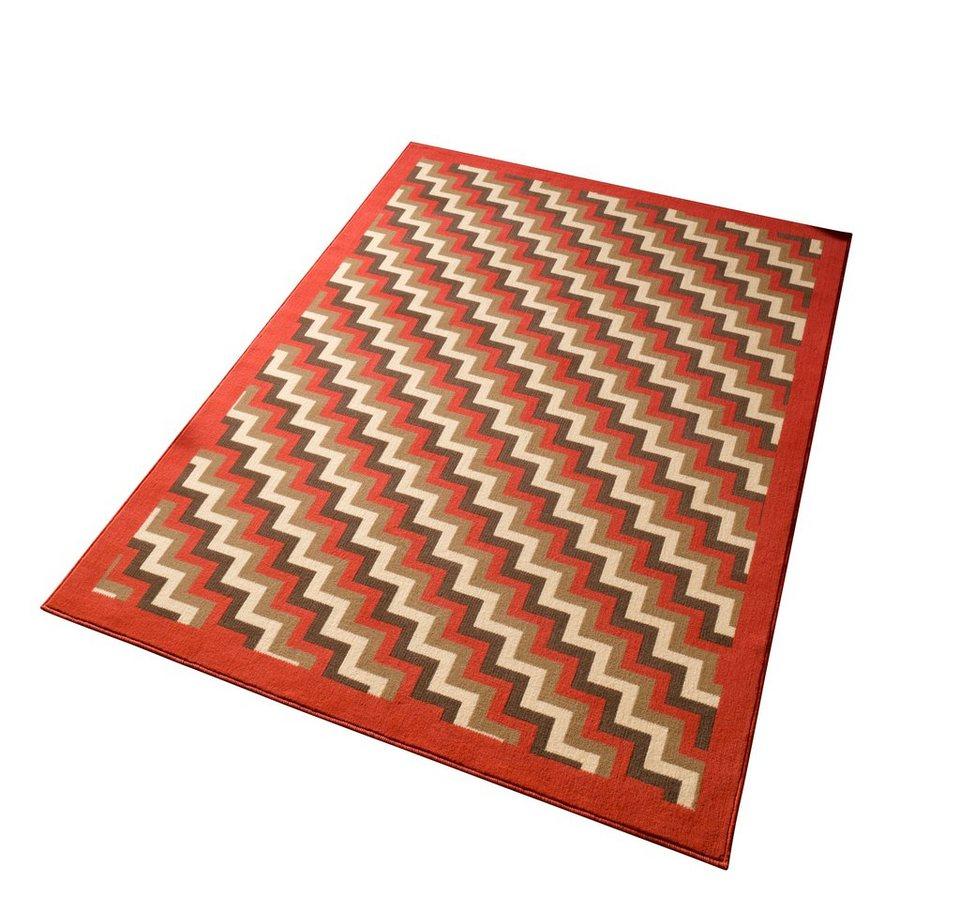 Teppich, Hanse Home, »Step«, gewebt in Coral