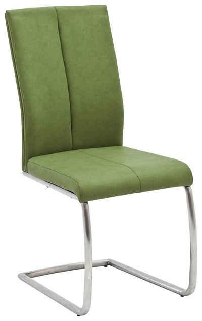 MCA furniture Freischwinger »Flores C Schwingstuhl« 2er Set, Stuhl bis 130 Kg belastbar