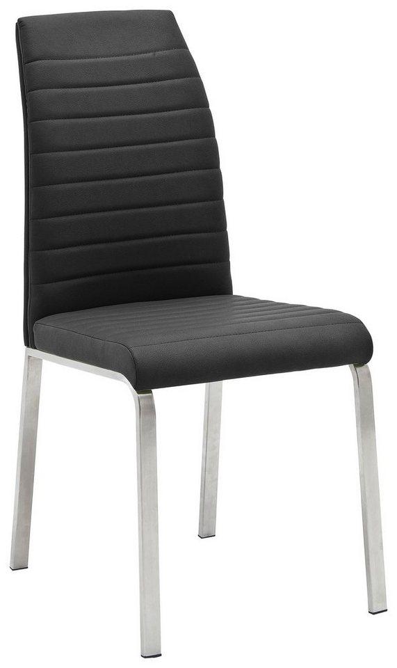 Stühle (2 Stück) in anthrazit