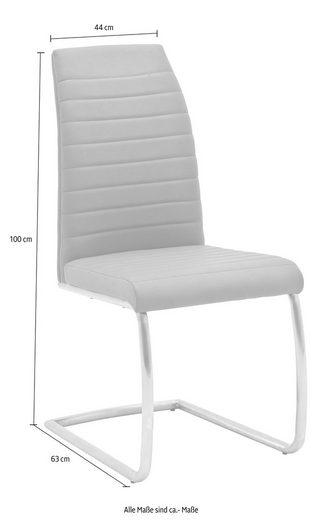MCA furniture Freischwinger Schwinger-Rundrohr-Gestell