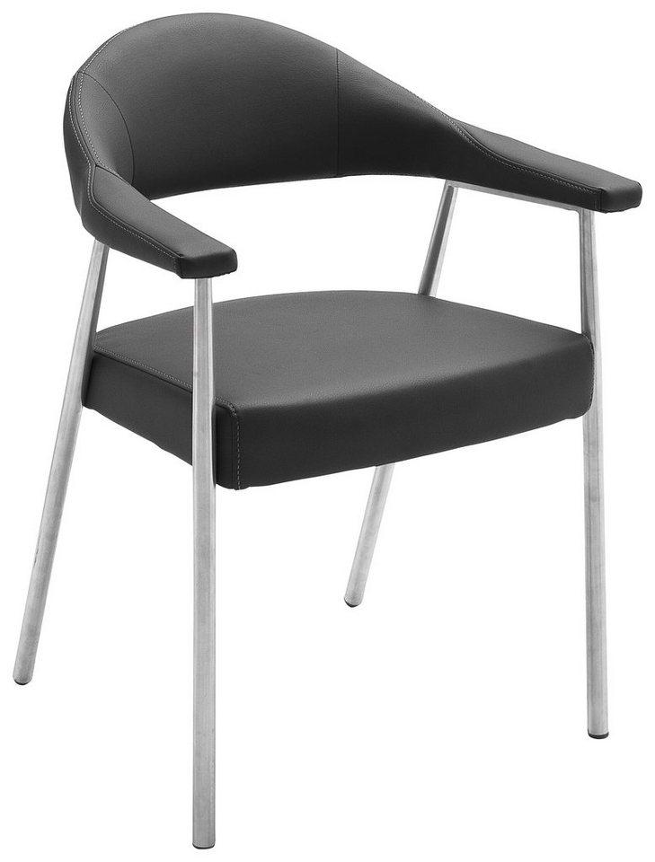 Stühle (2 Stück) in schwarz