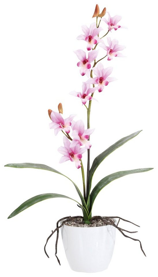 Home affaire Kunstblume »Orchidee« in rosa