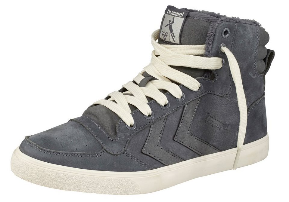 Hummel Stadil Winter Hi Sneaker in Grau