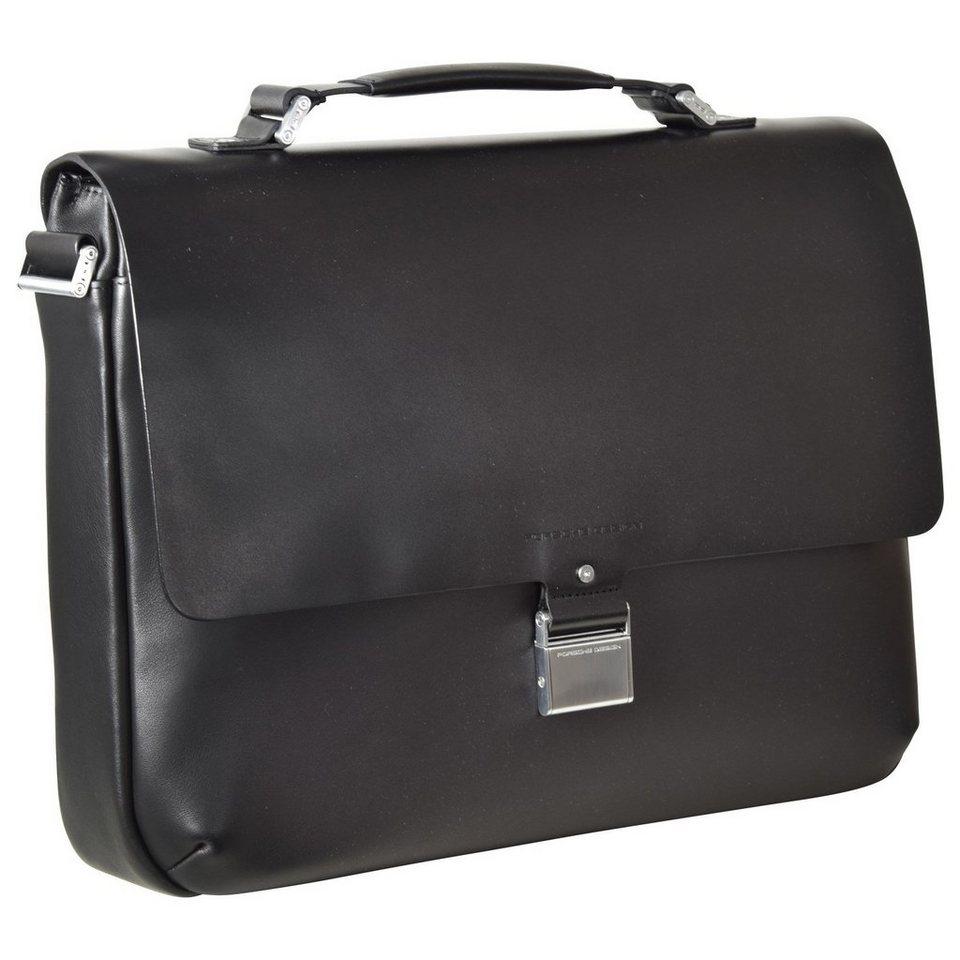 porsche design shyrt leather briefbag fs aktentasche leder. Black Bedroom Furniture Sets. Home Design Ideas
