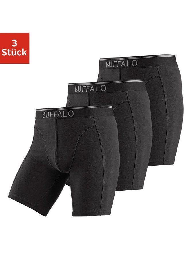 0fbc309897d962 Buffalo Boxer (3 Stück), in langer Form mit Logodruck im Webbund online  kaufen | OTTO