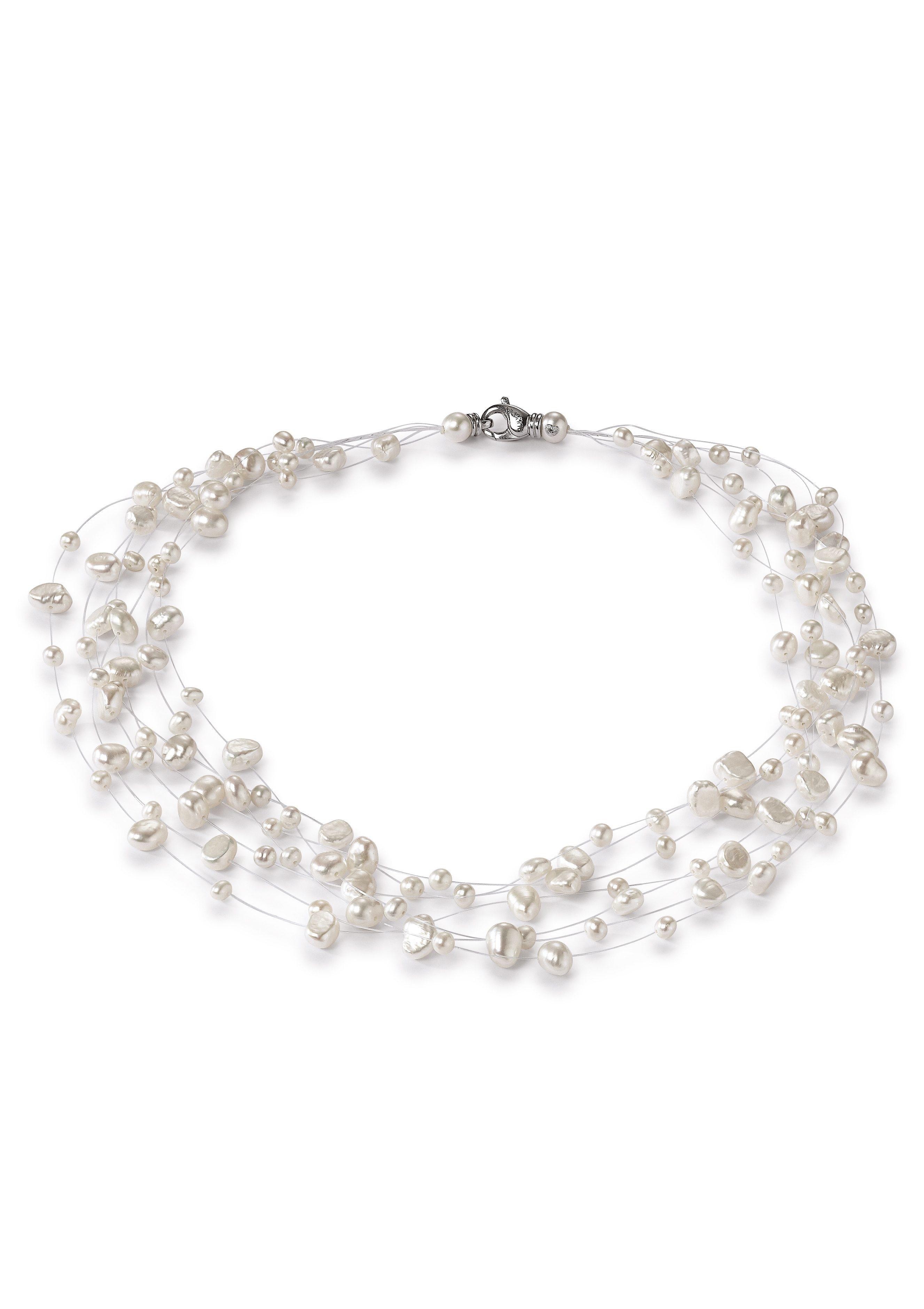 Adriana Perlenkette »La mia perla, R1/Ba«, mit Süßwasserzuchtperlen