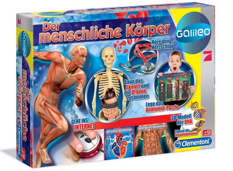 Clementoni Experimentier-Set, »Galileo - Der menschliche Körper«
