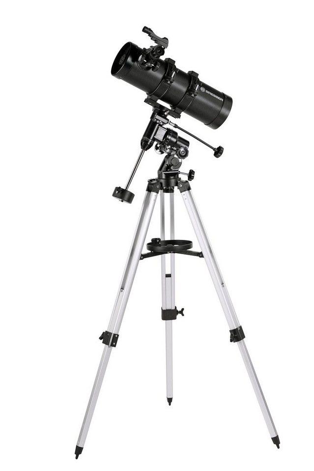 Bresser Teleskop »BRESSER Teleskop Pluto 114/500 EQ«